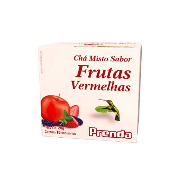 Chá Misto Frutas Vermelhas 10 sachês x 2g