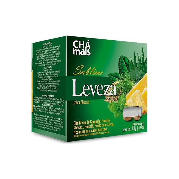 Chá Misto Sublime Leveza Abacaxi Sachês 10x1,5g