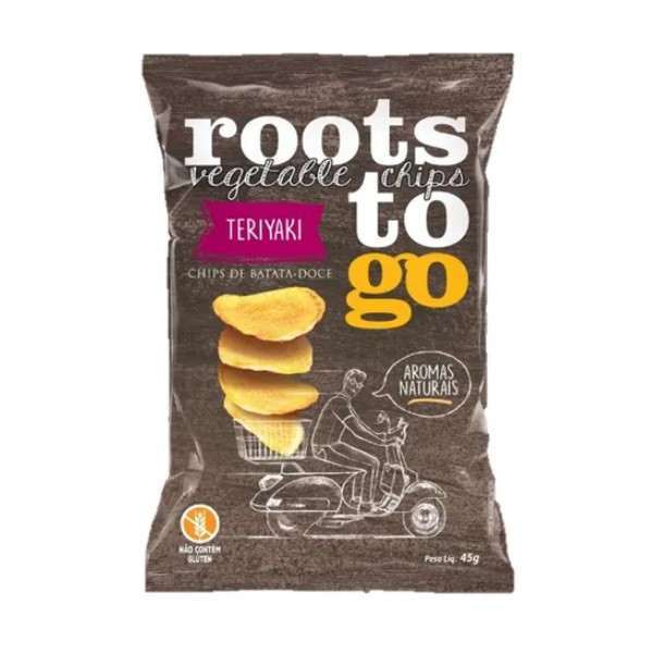 Chips de Batata Doce Teriaki 45g