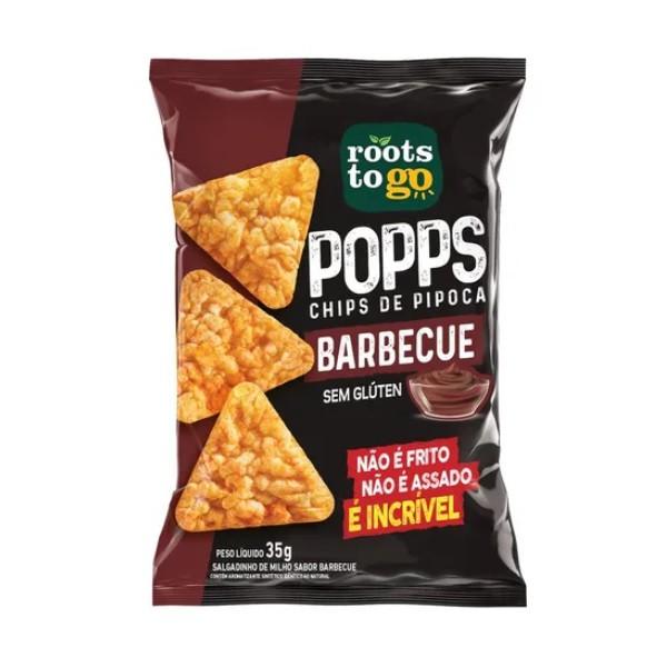 Chips de Pipoca Barbecue 35g