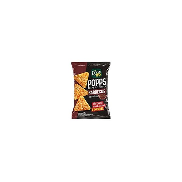 Chips de Pipoca Barbecue 35g