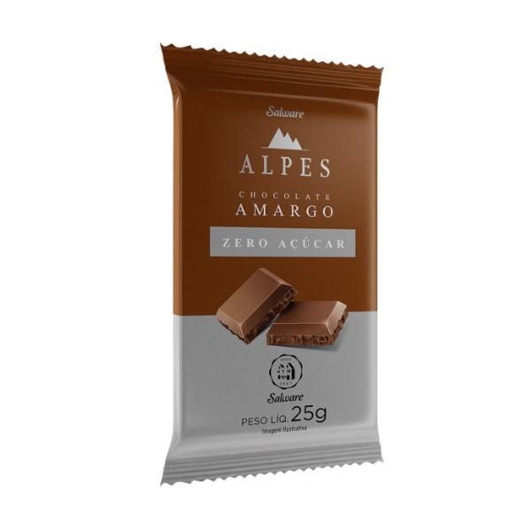 Chocolate Amargo Zero Açúcar Display 16x25g