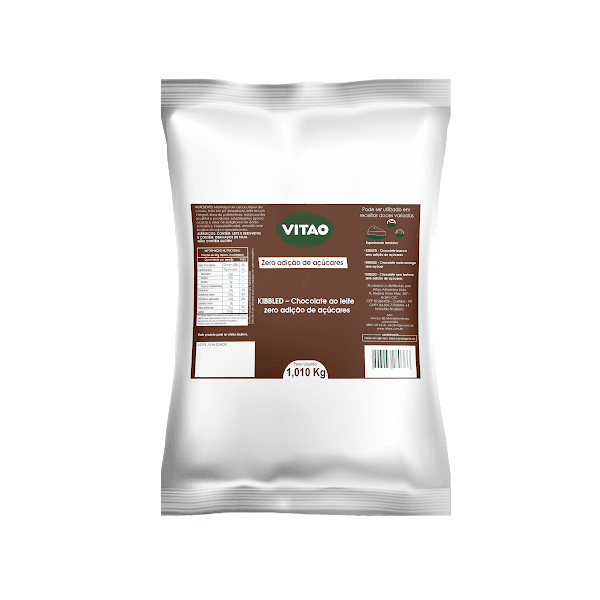 Chocolate ao Leite Zero Kibbled 1,01 Kg
