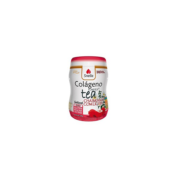 Colágeno Powder Tea Chá Branco Lichia 150g