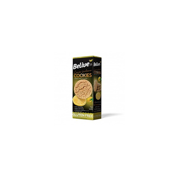 Cookies Limão Siciliano Sem Glúten Sem Lactose 100g
