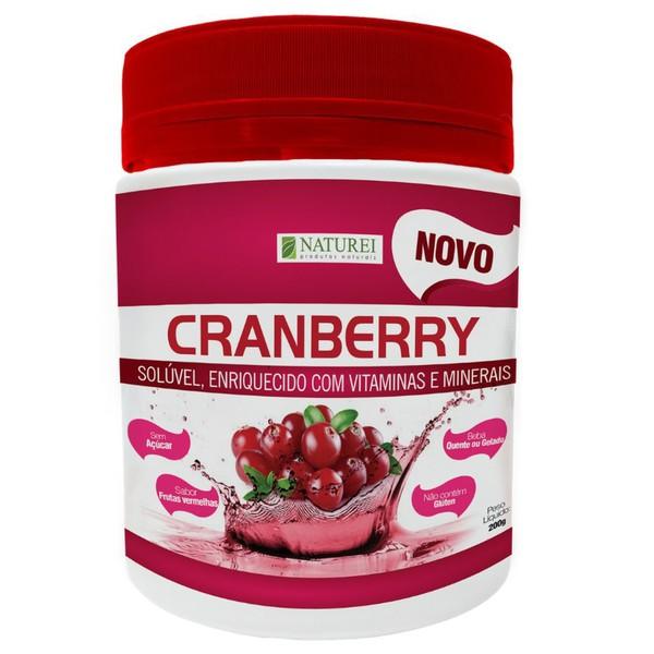 Cranberry Sem Açúcar Sabor Frutas Vermelhas 200g