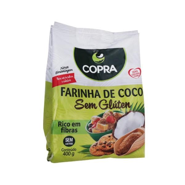 Farinha de Coco Integral Sem Glúten 400g