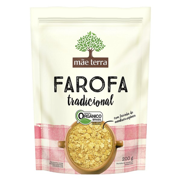 Farofa Tradicional Orgânica 200g