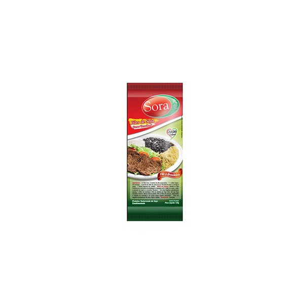 Filés de Soja Carne Vermelha 125g