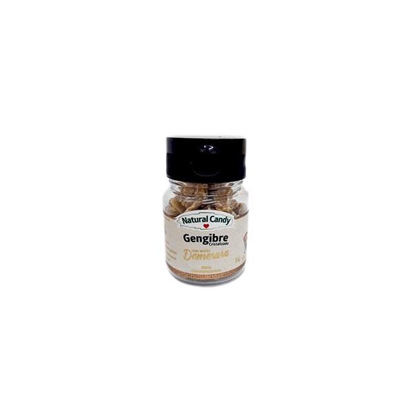 Gengibre Crsitalizado Açúcare Demerara Display 6x33g