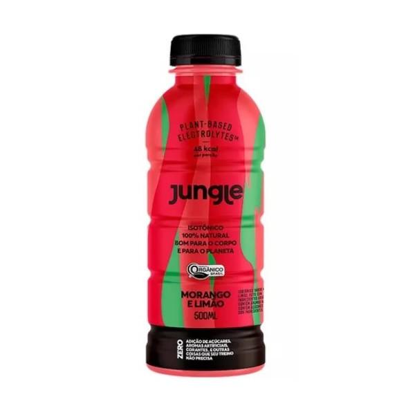 Isotônico Jungle Sabor Morango/Limão Display 6x500ml