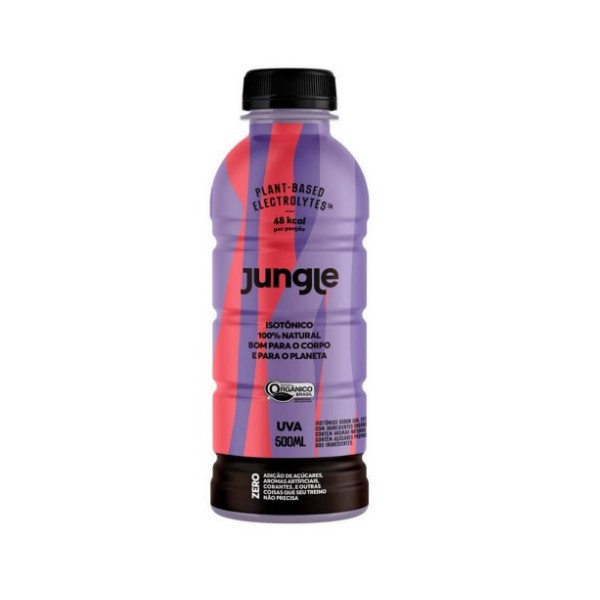 Isotônico Jungle Sabor Uva Display 6x500ml