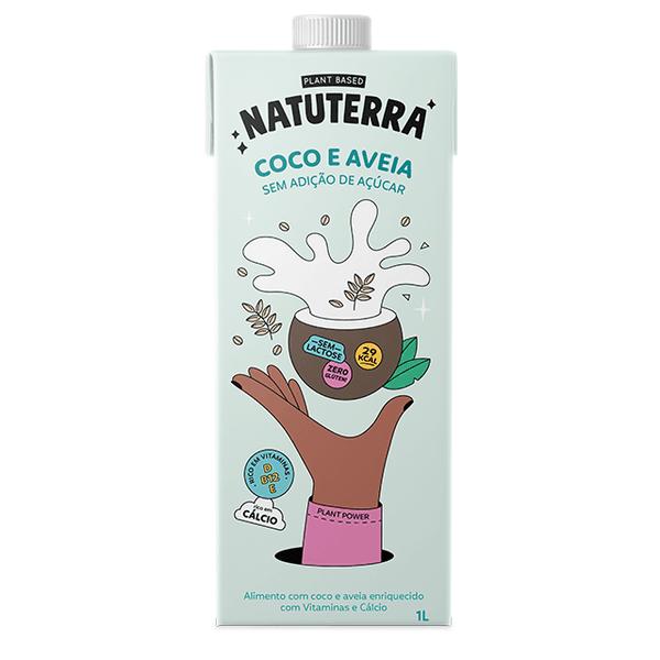 Bebida Leite de Coco e Aveia 1 litro