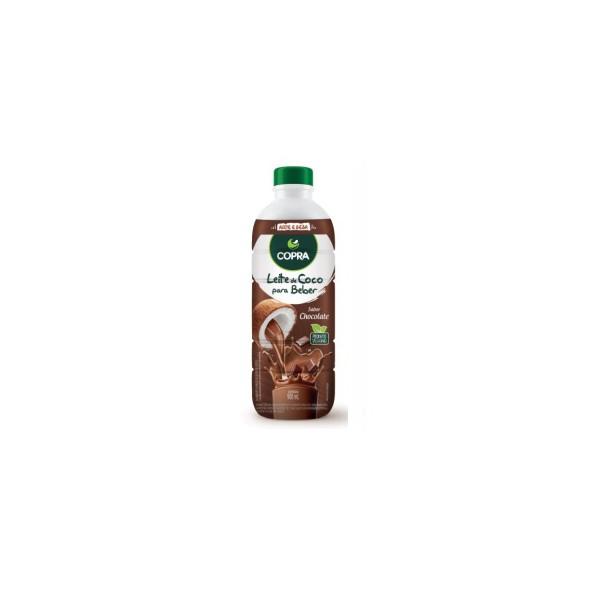 Leite de Coco Para Beber Sabor Chocolate Veg 900ml