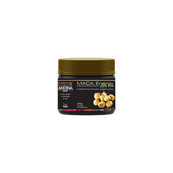 Maca Amarela em Pó Vegan 200g