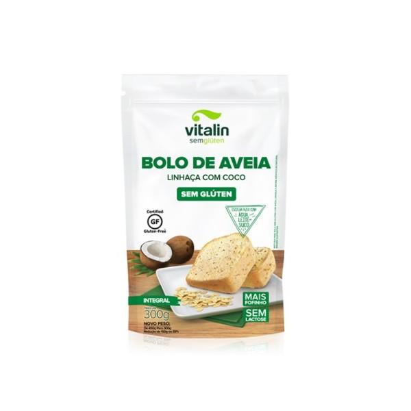 Mistura Para Bolo Aveia Linhaça e Coco 300g