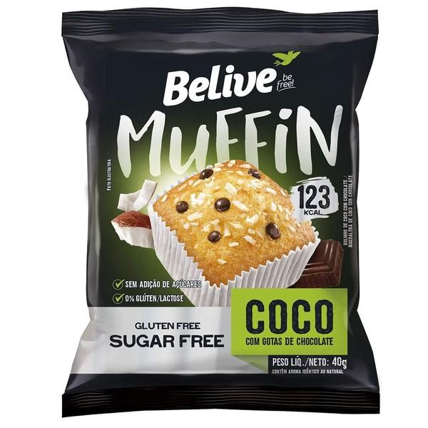 Muffin Coco e Chocolate Display 10 x 34g