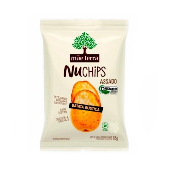 Nuchips Batata Rústica 32g