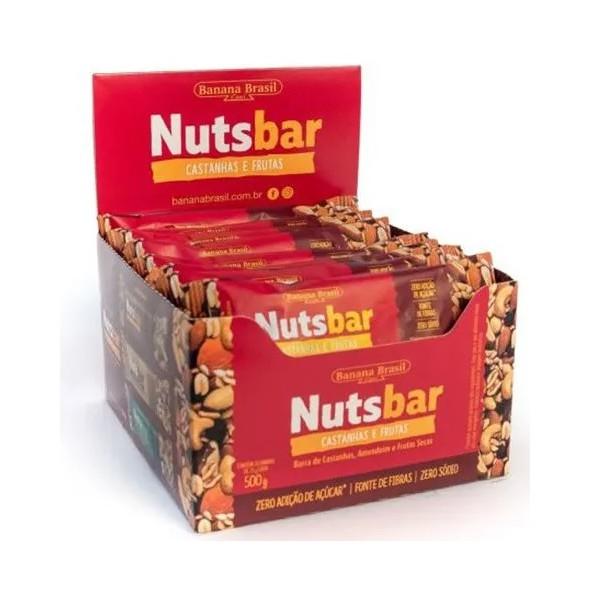 Nuts Bar Castanhas e Frutas display 20 x 25g