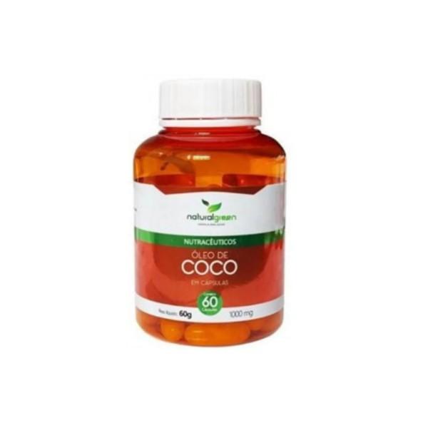 Óleo de Coco 60 cápsulas x 1000mg