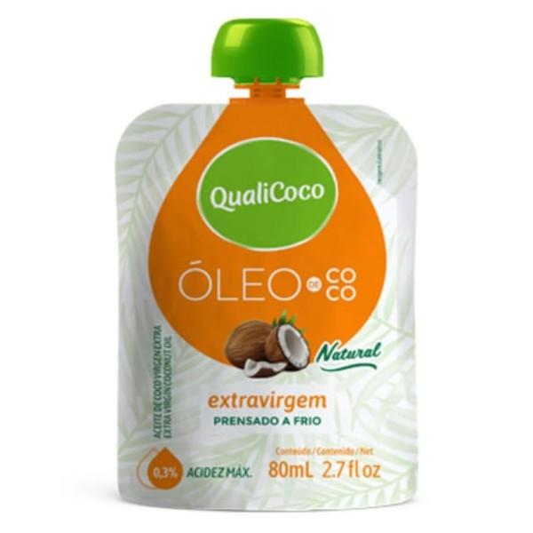 Óleo de Coco Extravirgem Sachê 80ml