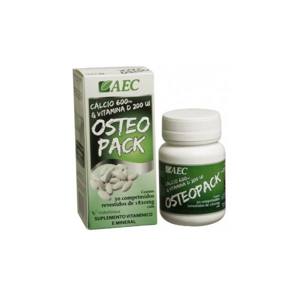 Osteopack (Cálcio + Vit. D) 30 comprimidos