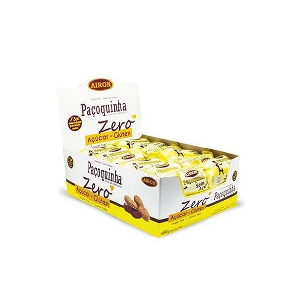 Paçoca Doce de Amendoim Zero display 24unid x 20g