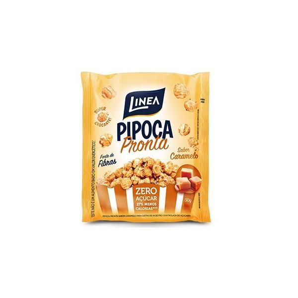 Pipoca Pronta Sabor Caramelo Zero Açúcar 50g