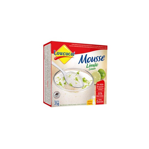 Pó para Mousse Zero Açúcar Sabor Limão 25g