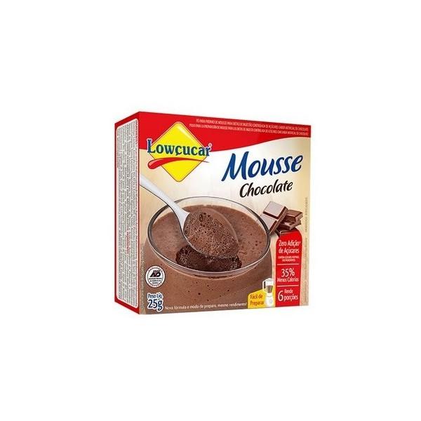 Pó Para Mousse Zero Açúcar Chocolate 25g