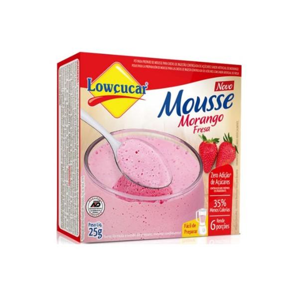 Mousse Morango Zero 25g