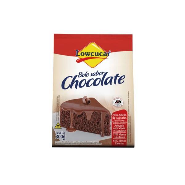 Pó Para Preparo Bolo Zero Açúcar Chocolate 300g