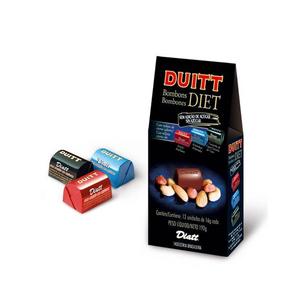 Duitt Bombom Diet Misto Display 12 x 15g