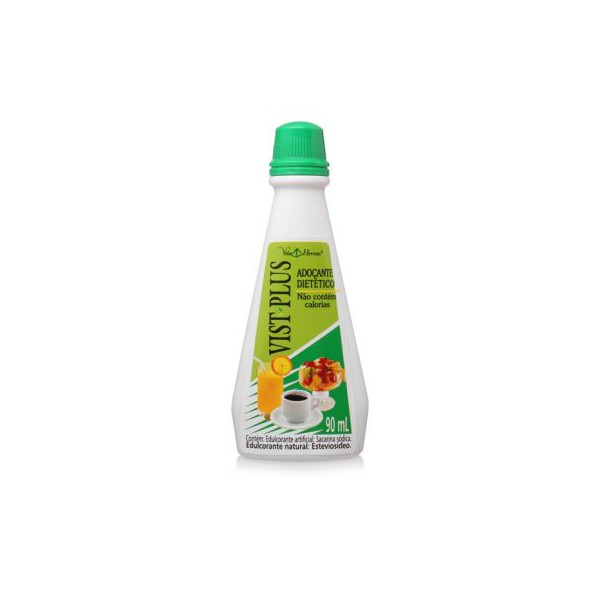 Adoçante Vist-Plus 90ml (verde)