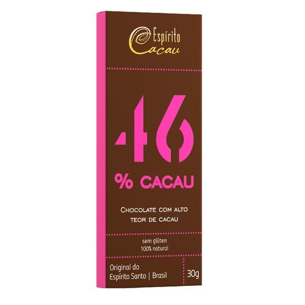 Chocolate 46% Cacau Sem Glúten Display 10x25g