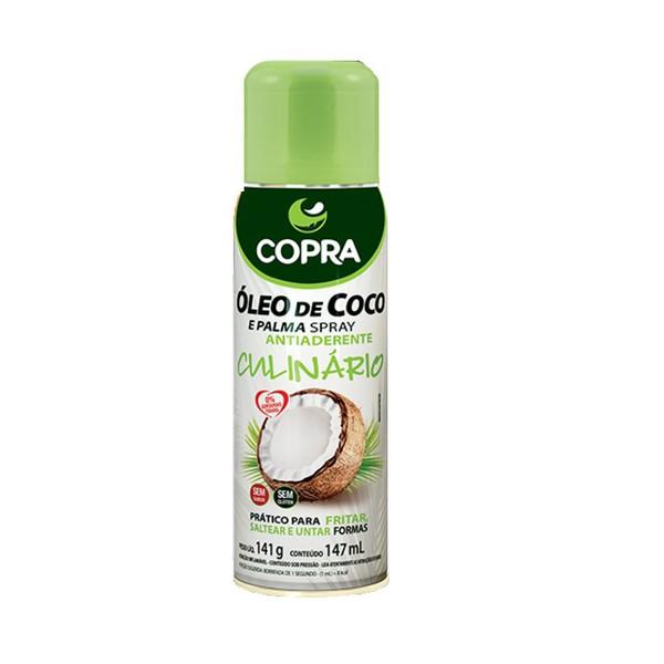 Óleo de Coco e Palma Spray Antiaderente 147ml