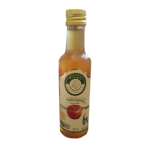 Vinagre de Fruta Maçã Orgânico 6% 250ml