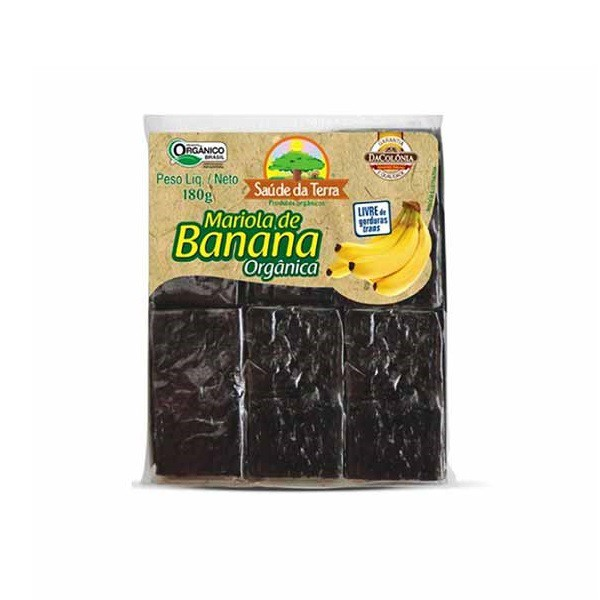 Mariola de Banana Orgânica 180g