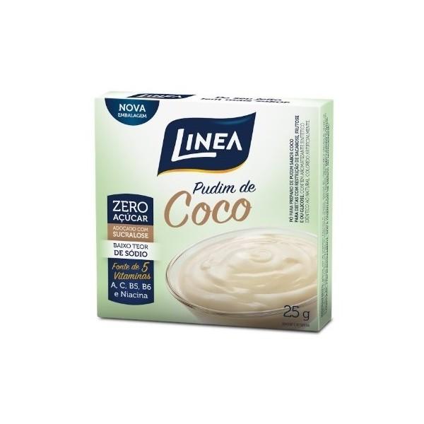 Pó Para Pudim Zero Açúcar Coco 25g