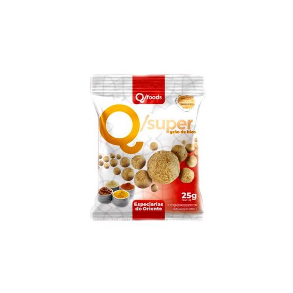 QSuper Snack Grão de Bico Especiarias Oriente Display 6x25g