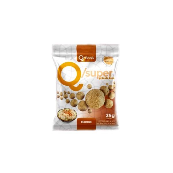 QSuper Snack Grão de Bico Homus Display 6 x 25g