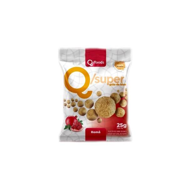 QSuper Snack Grão de Bico com Romã Display 6 x 25g