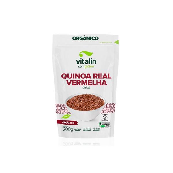 Quinoa Real Vermelha em Grãos Orgânica 200g