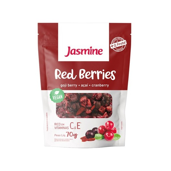 Red Berries Gojiberry, Açaí, Cranberry Vegan 70g