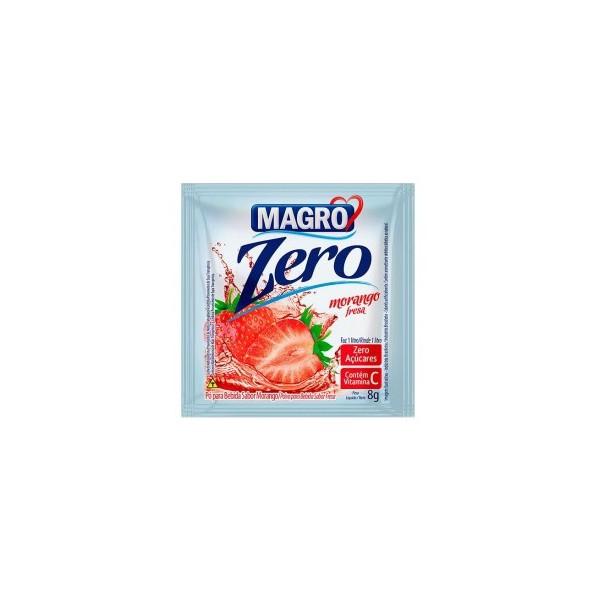 Refresco morango zero display 15un X 8g