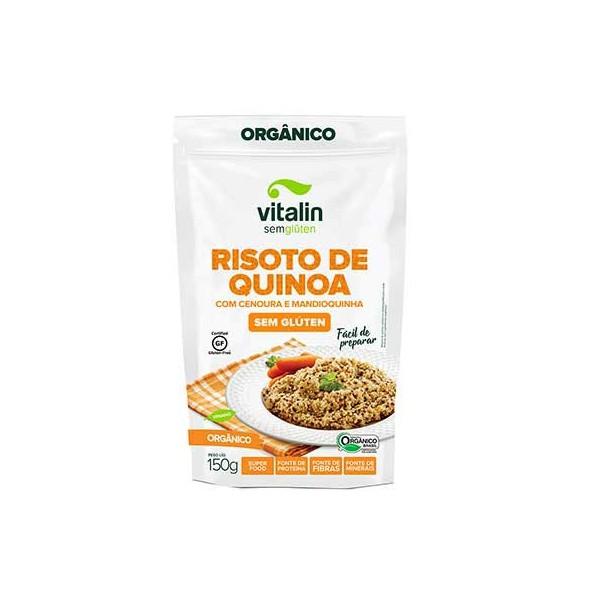 Risoto de Quinoa com Cenoura e Mandioquinha Orgânico 150g