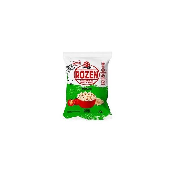 Rozen Salgadinho de Arroz Integral Sabor Tomate 50g