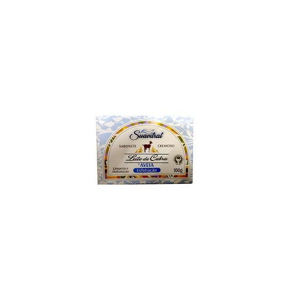 Sabonete Leite de Cabra e Aveia Esfoliação 100g