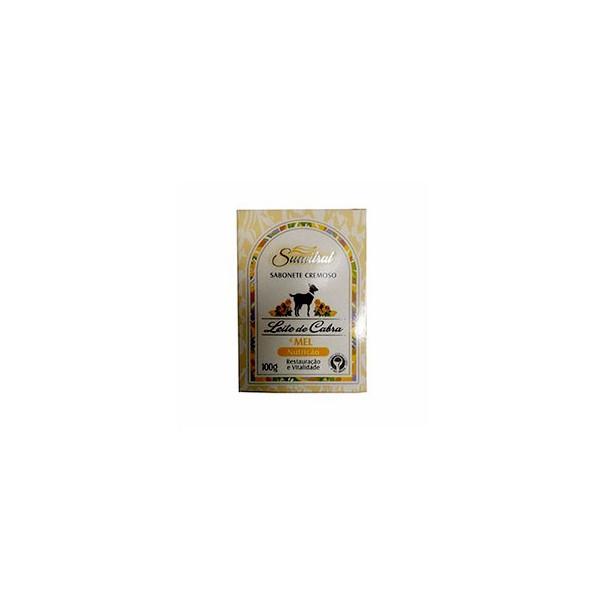 Sabonete Leite de Cabra e Mel Nutrição 100g