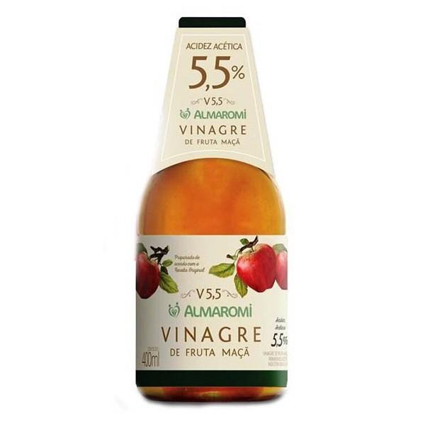Vinagre de Fruta Maçã 5,5% 400ml
